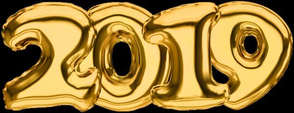 2019_Gold_Transparent_PNG_Clip_Art